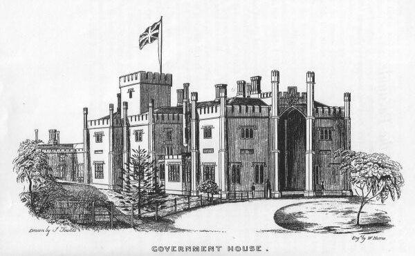 Government House Sydney 1848