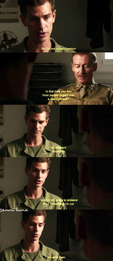 Hacksaw Ridge movie - Andrew Garfield