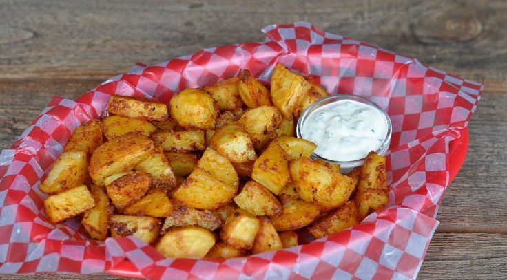 Pit Powder Potatoes – Gebackene Kartoffeln