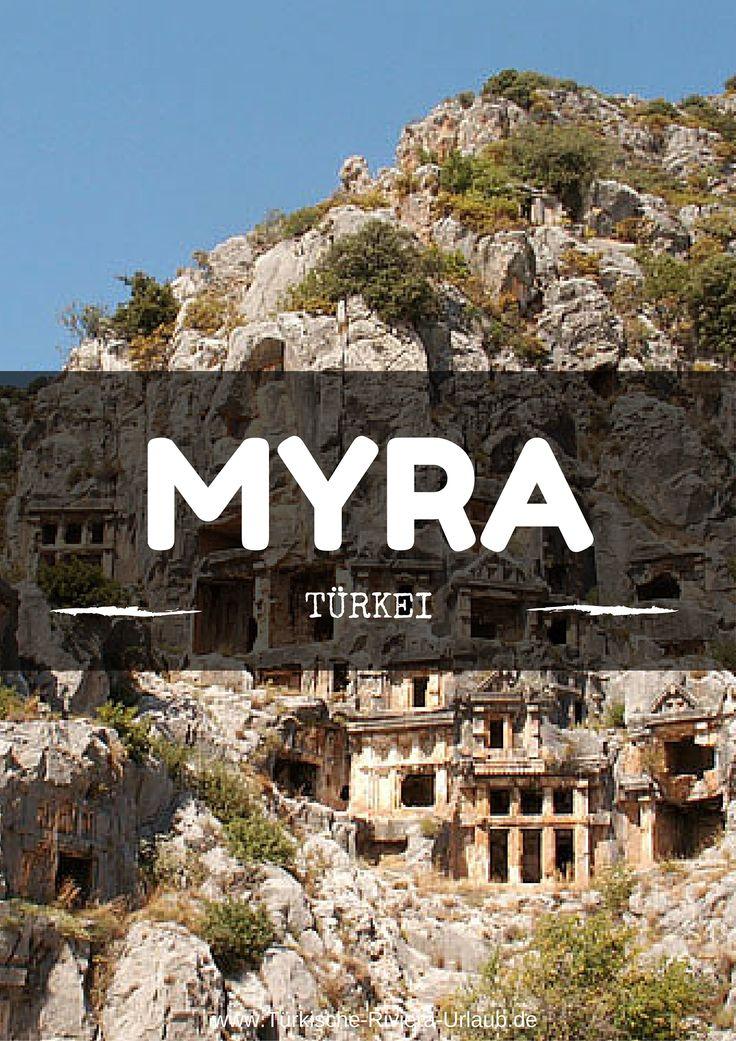 Weshalb Du unbedingt die Ruinen von Myra und das Grab von Nikloaus von Myra in der Türkei besuchen sollst erfährst Du in diesem Beitrag auf meinem Türkei Reiseblog >> http://www.tuerkische-riviera-urlaub.de/myra-nikolaus/