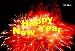 Happy New Year  Animated GIF Images ,  Free Download And Black Background In Nice GIF