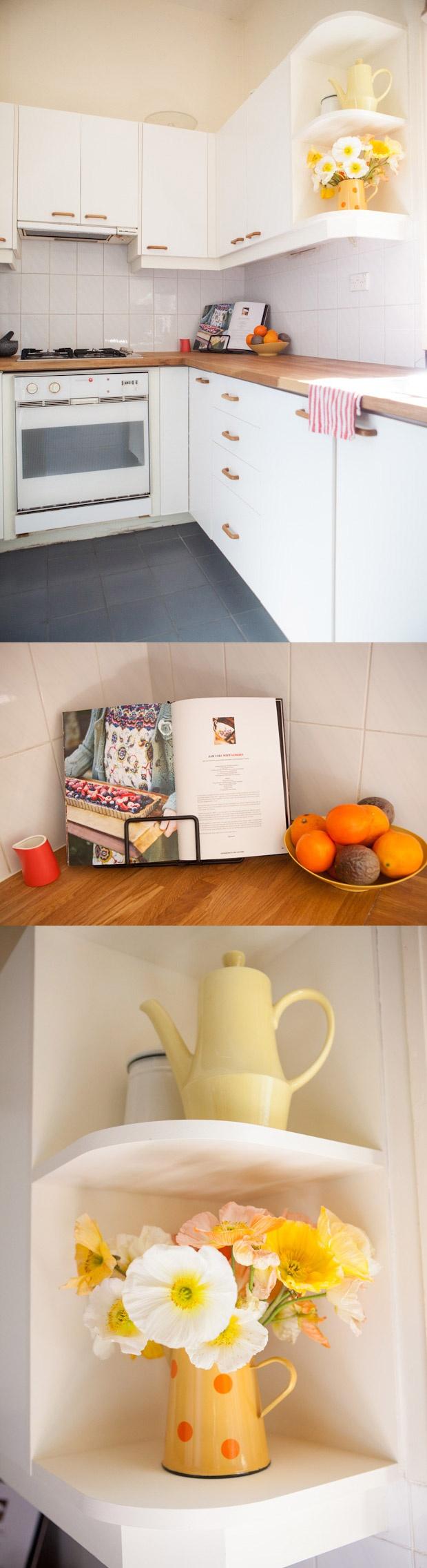 Homes interiors inspiration - Claire Yvonne Evans - Ashka interview #homes #interiors #inspirations #creative #sydney #australia #kitchen #vintage #cookbook #white