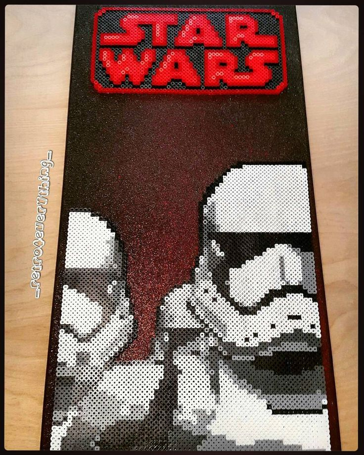 Stormtroopers - Star Wars perler beads by ig_retro4everything_