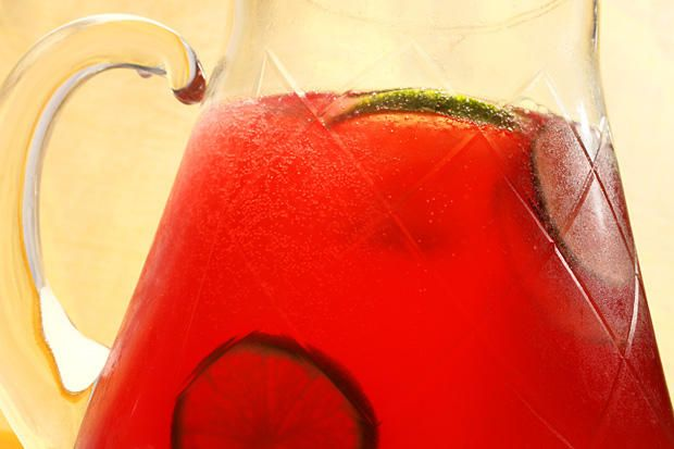 Virgin Pomegranate-Lime Rickey