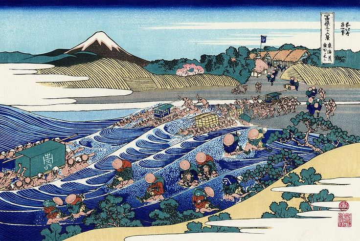 File:The Fuji from Kanaya on the Tokaido.jpg