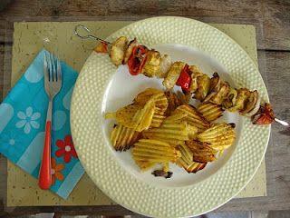 #souvlaki #chicken #skewers
