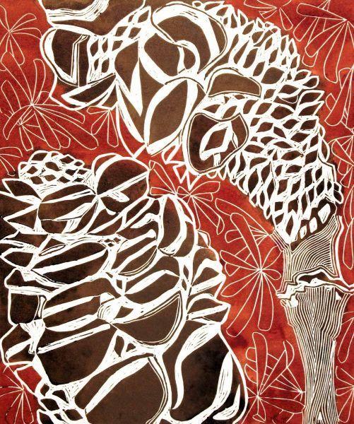 Banksia Cones. Tessa Charles