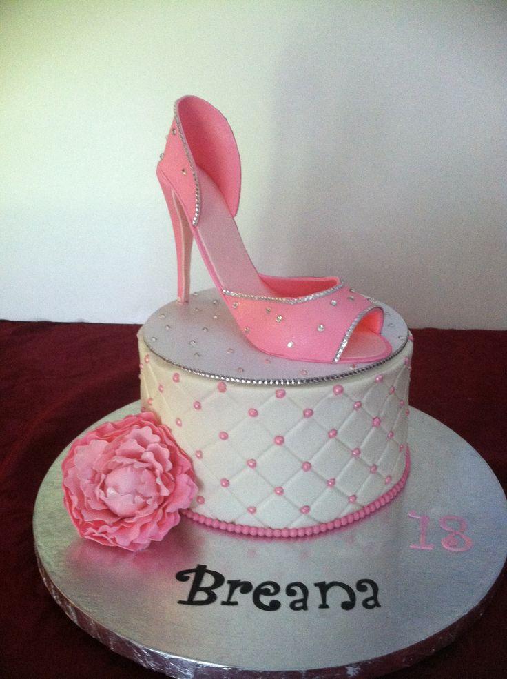 Best 25 High Heel Cakes Ideas On Pinterest Fondant Shoe