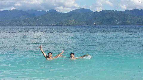 the lombok beach