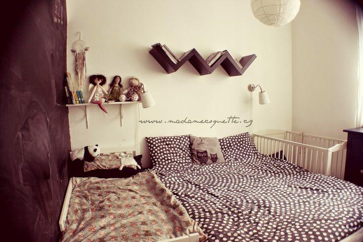 Madame Coquette: inspirační / ložnice pro čtyři