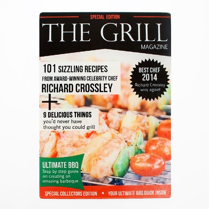 The Grill Magazine, Personalised Glass Chopping Board - yourgifthouse