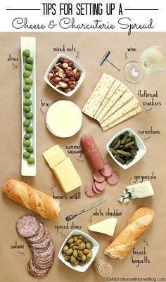 Charcuterie & Cheese Party für zu Hause