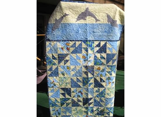 19 Best Images About Dolphin Quilt On Pinterest Quilt