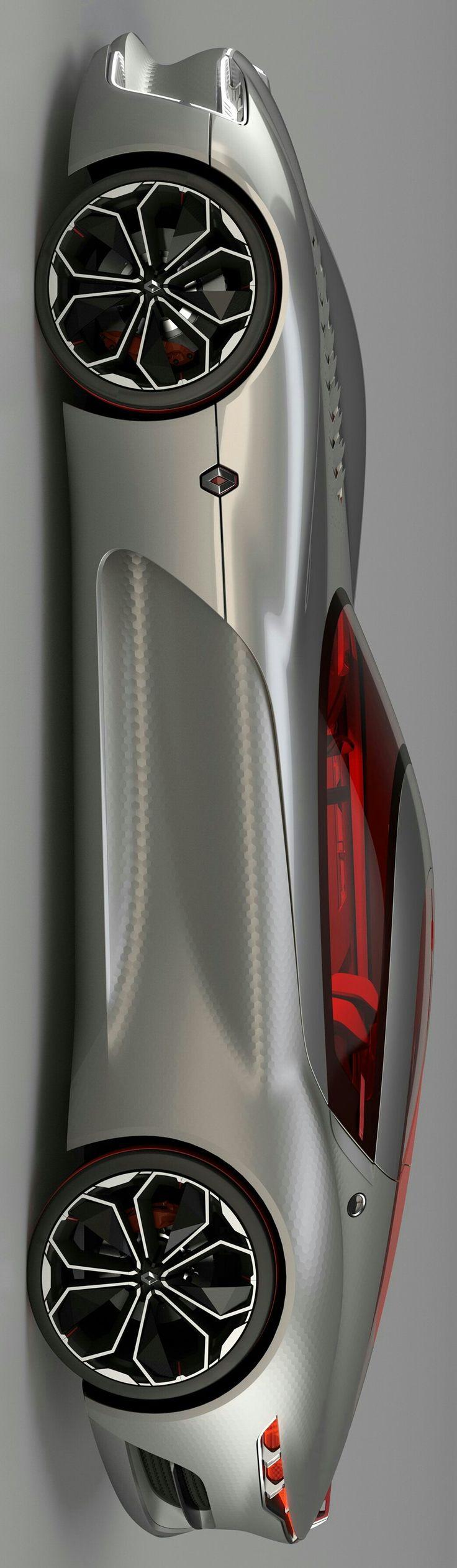 2016 Renault Trezor Concept by Levon