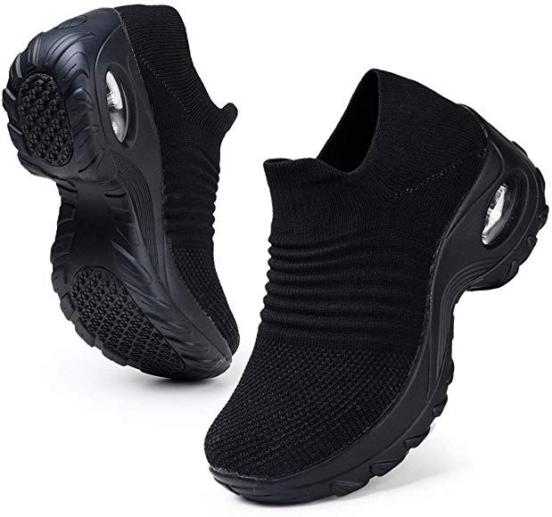 Men/'s Mesh Sneakers Air Cushion Comfortable Walking Athletic Shoes Light Weight
