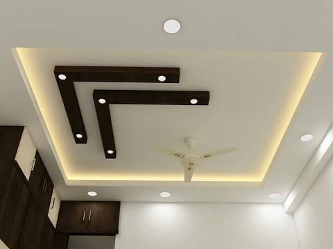 Best Gypsum Board False Ceiling Design For Hall And Bedroom Gypsum Board False Ceiling Designs - YouTube