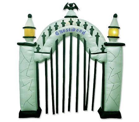 Make your party more realistic with this Inflatable Ghostwood gate. Now Price Drop!