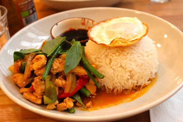 Kapunka -  restaurant thai sans gluten - 51 rue Saint Sauveur, Paris 2 (m : Sentier / Réaumur Sébastopol)