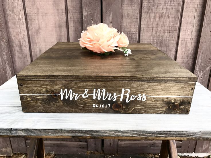 A personal favorite from my Etsy shop https://www.etsy.com/listing/508159794/22x22-rustic-cake-stand-custom-wedding