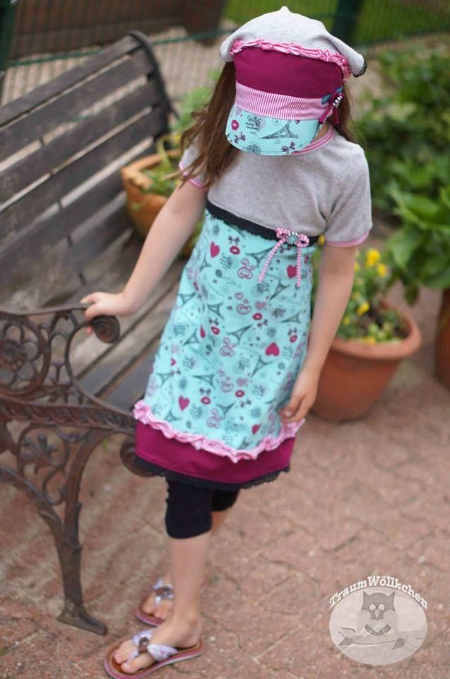 176 best Mädchen Kleider - Freebooks Nähen images on Pinterest ...