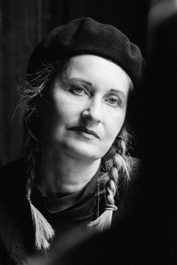 Elfriede Jelinek by Peter Rigaud