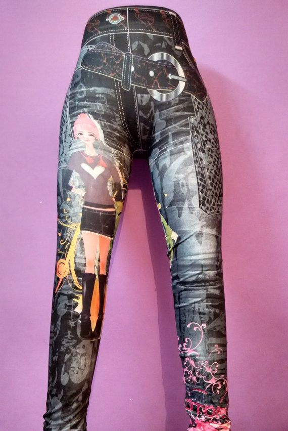 Doll  Butterfly Printed Leggings  High Quality by TheViViDstore
