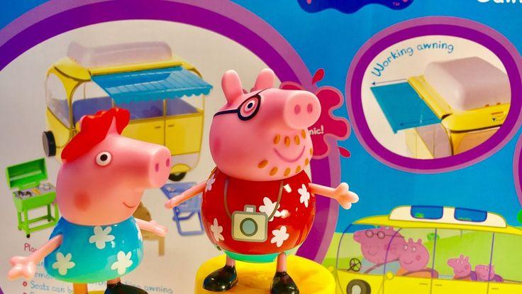 PEPPA PIG FAMILY CAMPER VAN PLAYSET