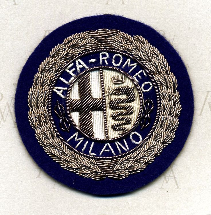 Alfa Romeo Licensing - Vintage Jackets Patch