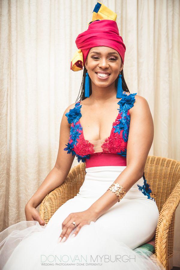a6a99f74294 An Elegant Tswana   Pedi Wedding With Dresses by Rich Factory - South  African Wedding Blog