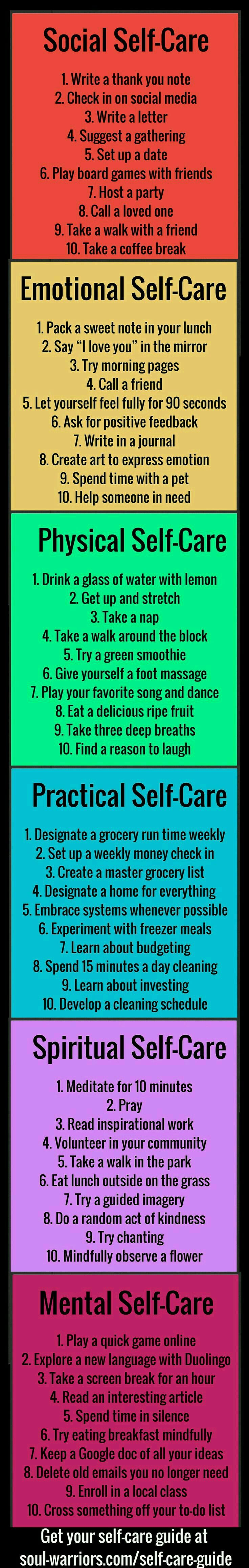 Health / tips / healthy / self care/ physical, emotional ...