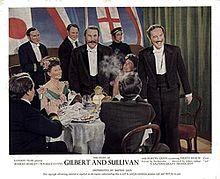The Story of Gilbert and Sullivan - a 1953 British technicolor film.