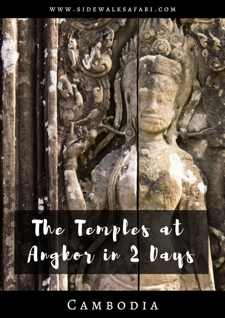 Visiting The Temples at Angkor in Cambodia on a 2-day Tour with a Private Air-Conditioned Car and Guide