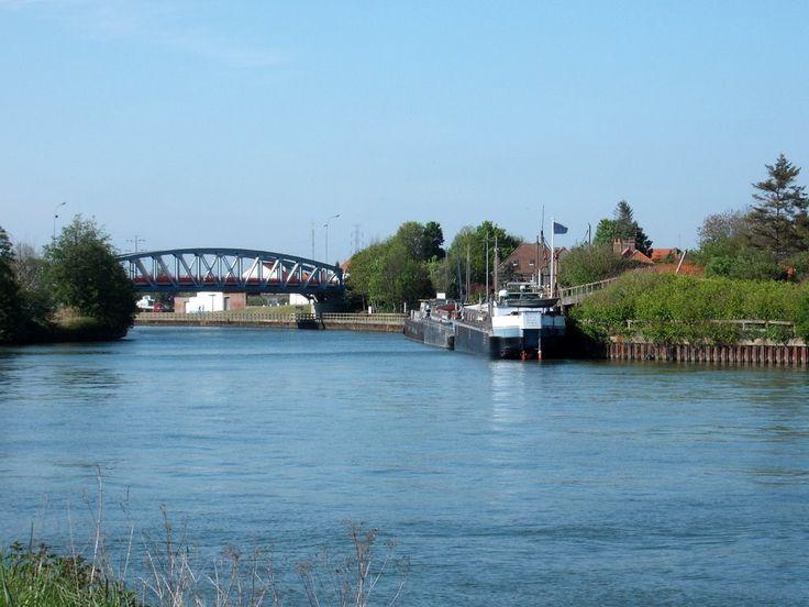 Pont de Watten sur l'Aa