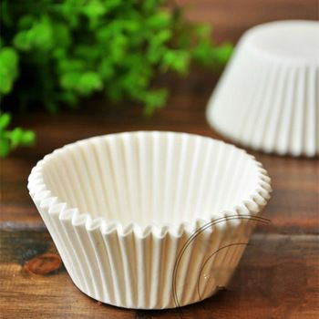 Белый бумажный стаканчик торт плесень кекс вкладыши украшения мини бумаги чехол шоколад выпекать плесень выпечки инструменты для тортов