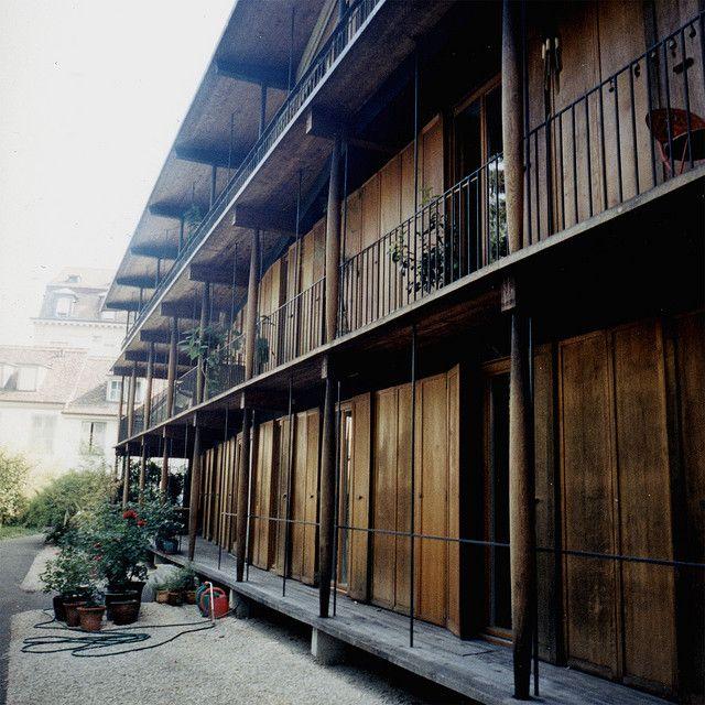 Basel Herzog De Meuron Apartment  #architecture #demeuron #herzog Pinned by www.modlar.com