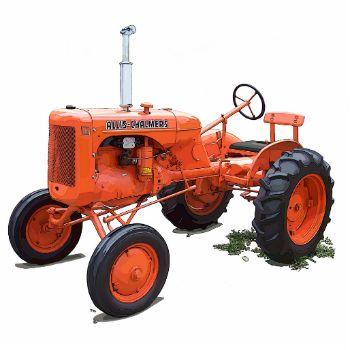 The Allis-Chalmers Model B farm tractor