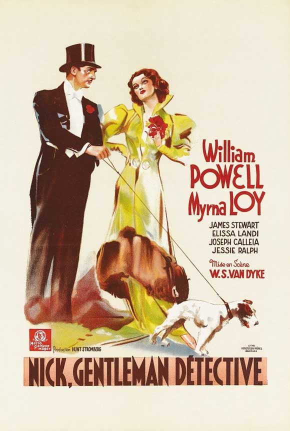 After the Thin Man (German) 27x40 Movie Poster (1936)