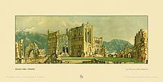 Rievaulx Abbey by Sir Henry George Rushbury