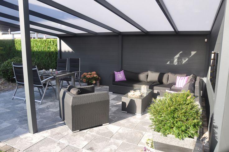 Vrijstaande veranda polycarbonaat 500cm - ElegantWood | ElegantWood