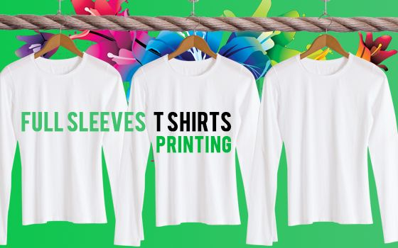 If you are looking for Full Sleeve T Shirts in Dubai ?? you can Contact us any time at Design 360 T Shirts. We provide the best quality T Shirts printing service in Dubai