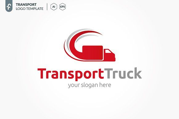 Transport Truck Logo Free Business Card Templates Free Business Cards Business Card Template Design