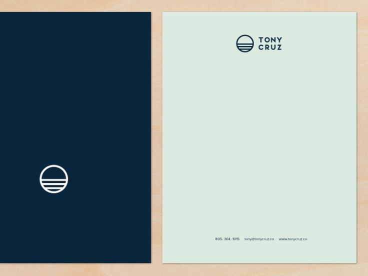 Professional, Masculine, Catering Letterhead Design for Blu Flame