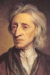 John Locke (1632-1407) Deze wetenschapper was van mening dat iedereen gelijke rechten had. Het maakt niet hoe rijk,arm of machtig je was de natuur maakt daar geen onderscheid tussen,dit noemde hij natuurrechten. Hij vond ook dat de koning geen Droit DIvin (goddelijk recht) had, ook de koning moest zich houden aan de wet en het land goed besturen. Deed hij dit niet dan mocht het volk in opstand komen.