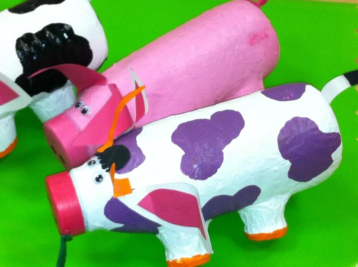 bouteilles de lait bricolage enfant pinterest. Black Bedroom Furniture Sets. Home Design Ideas