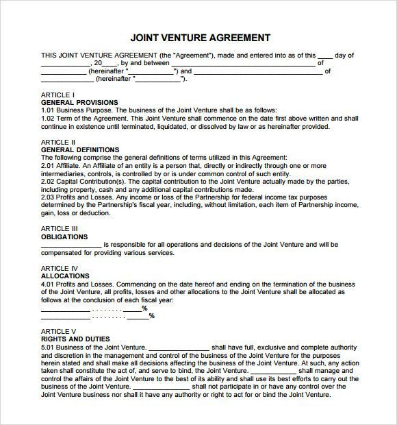 5 Free Partnership Agreement Templates With Tips Agreement