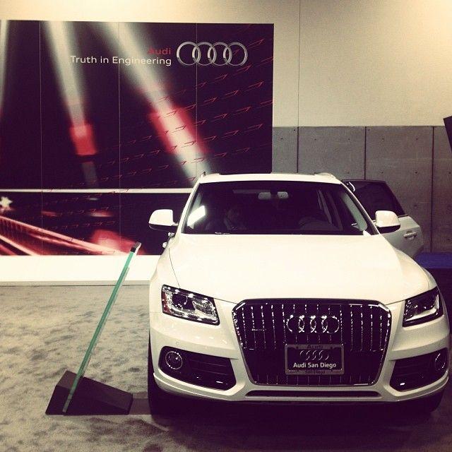 2014 Audi Q5 at San Diego Auto Show