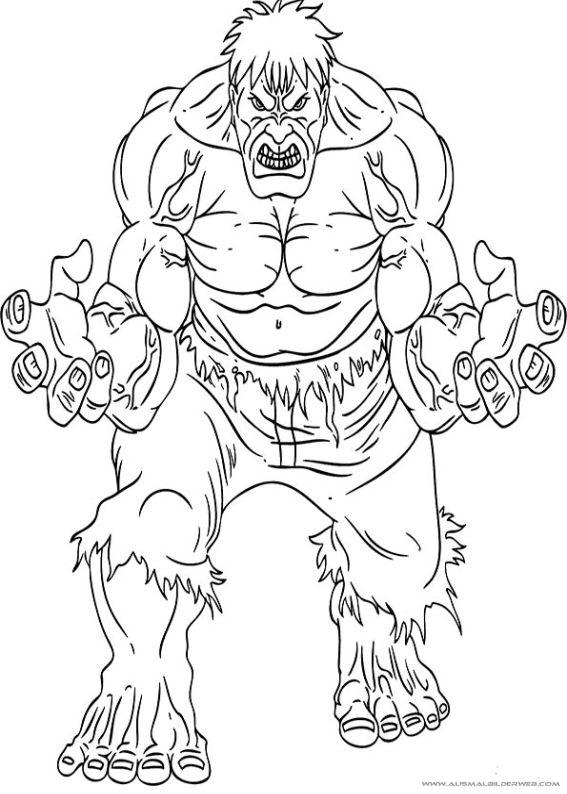 10 Besten Thor Ausmalbilder Bilder Auf Pinterest: 14 Besten Ausmalbilder Hulk Bilder Auf Pinterest