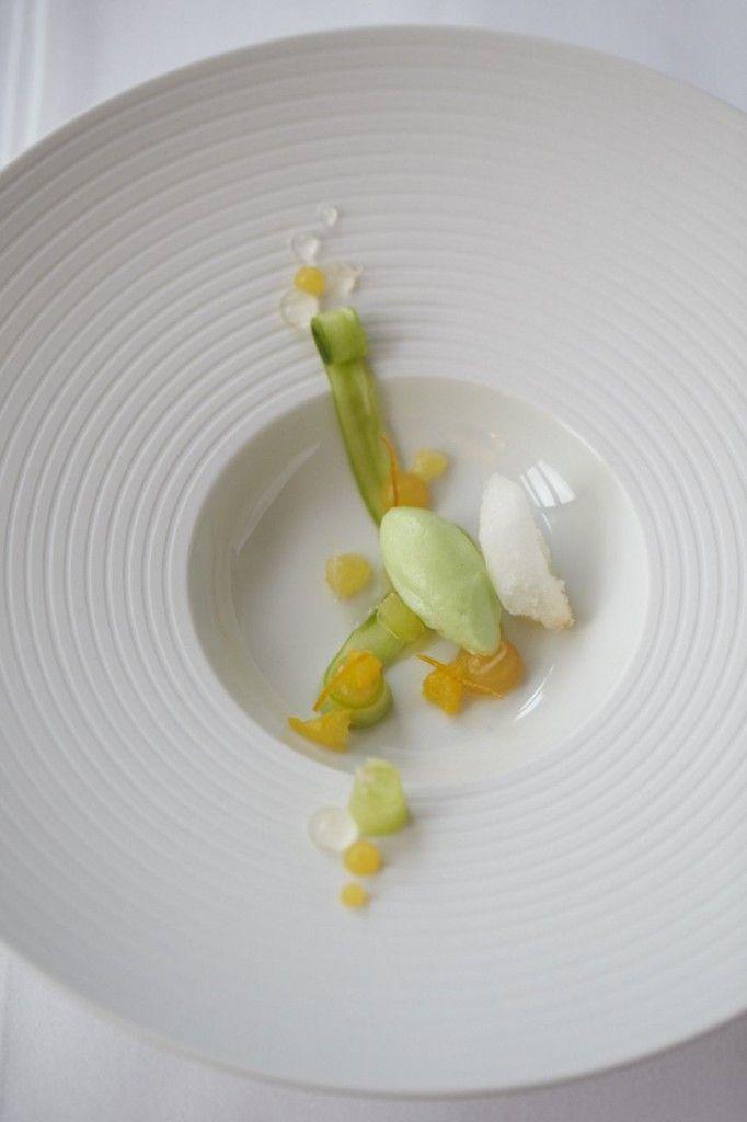 "Michael Mikolajczak - Jacobs Restaurant | ""PIMMS"" - Salat aus Gurken, Orange, Zitrone, Gingerbeer"