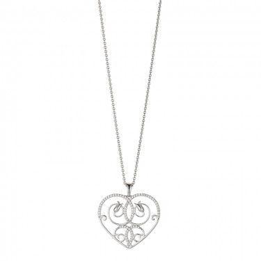Bezauberndes Collier aus Silber 925 Sterling mit Ornamentoptik, das an das Palais Dorotheum erinnert <3
