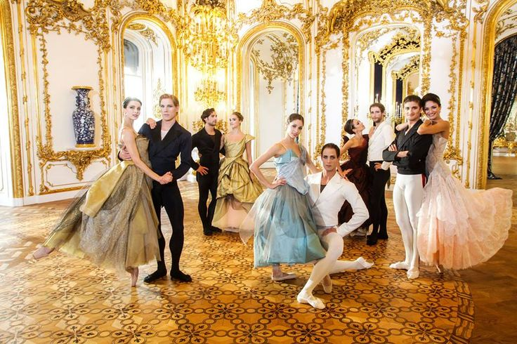 As part of the prestigious concert of the Vienna Philharmonic Orchestra, Vivienne Westwood designed and curated the costumes for the Vienna State Ballet intermission film and live Waltz which was performed at the International New Year's Concert in Vienna, broadcast worldwide to an audience of 40 million.
